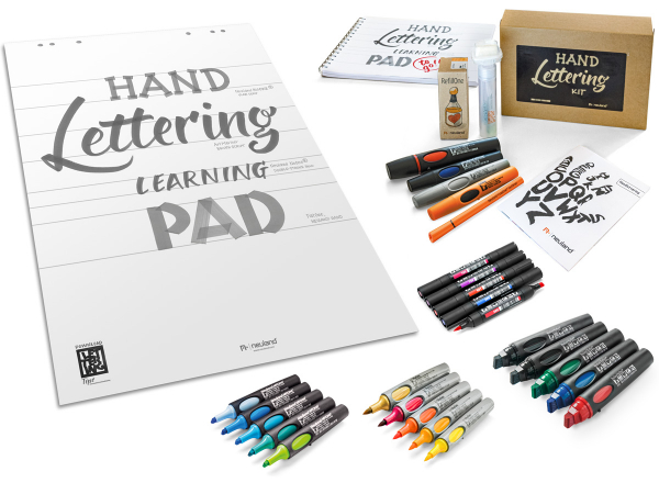 Campaign: Handlettering Kit – BIG –