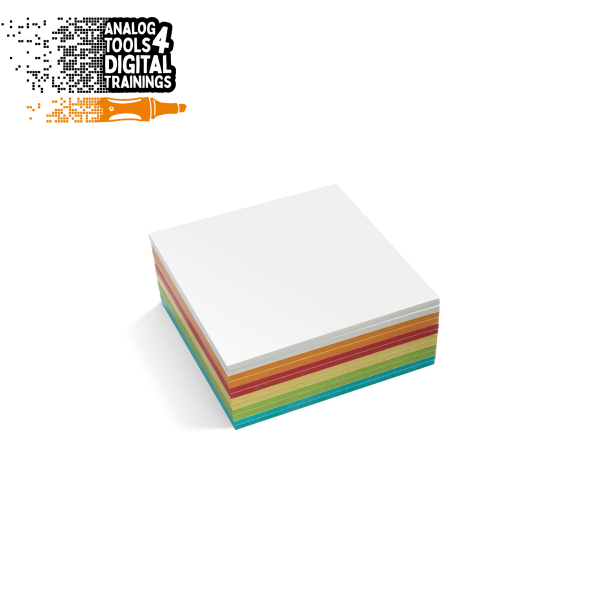 InstaCards medium Stick-It, 300 sheets, assorted