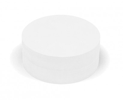 500 Large Circular Pin-It Cards, single colours