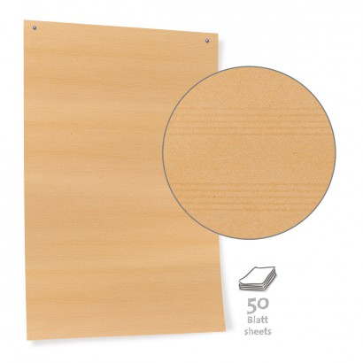 Brown Pinboard Paper