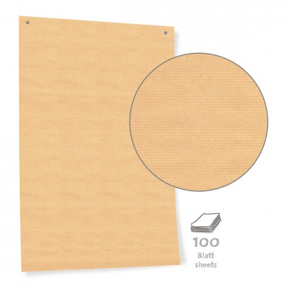 Brown Economy Pinboard Paper